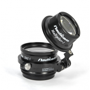 Nauticam SCM and multiplier lens