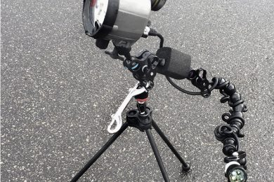 Tripod underwater anglerfish trigger-front
