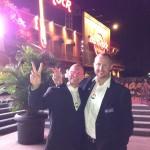 Awards Party at Hard Rock in Universal Studios.