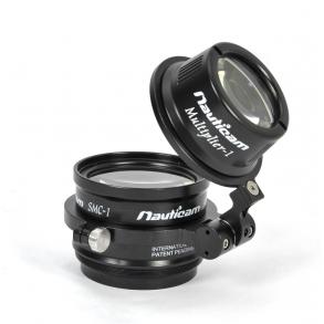 Nauticam SCM and multiplier lens